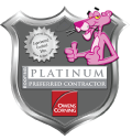 Platinum Preferred Contractor of Rock Hill, SC